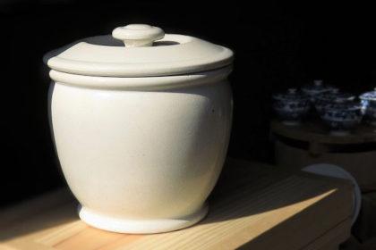 漬物容器,甕.かめ,味噌,梅干し,加藤さん