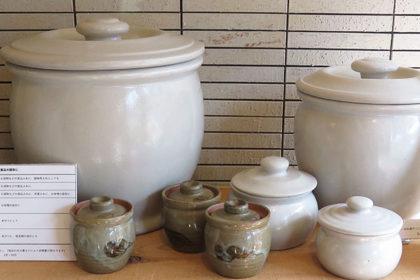 甕,漬物容器,かめ, 糠,ぬか,味噌