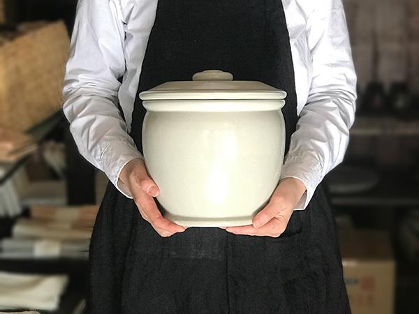 糠漬け,ぬか漬け,漬物容器,味噌,梅干し,梅,梅仕事,甕,かめ,容器