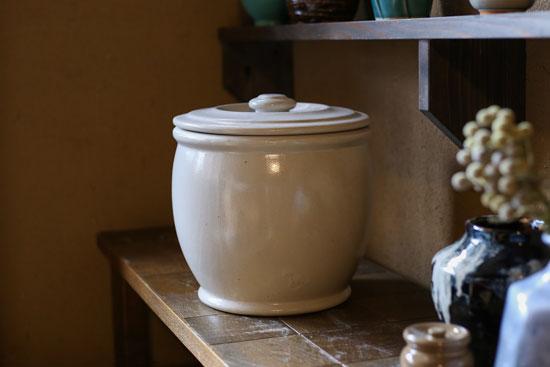 味噌,味噌容器,漬物,浅漬け,梅干し,梅干し容器,漬物容器,容器,甕,かめ